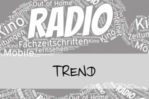 Vorschaubild: Brutto-Werbeerlöse für Radiowerbung steigen