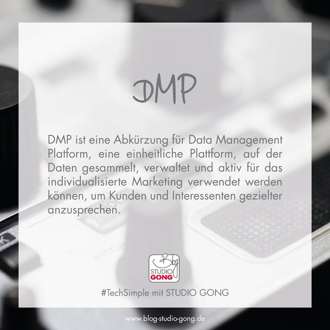 TechSimple DMP Erklärung