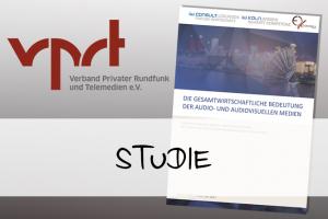 Vorschaubild: VPRT-Studie zum Wirtschaftsfaktor audiovisuelle Medien
