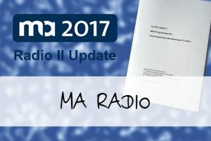 Vorschaubild: ma Radio II Update und wer ist eigentlich CATI?