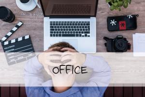 Beitragsbild Müdigkeit am Arbeitsplatz