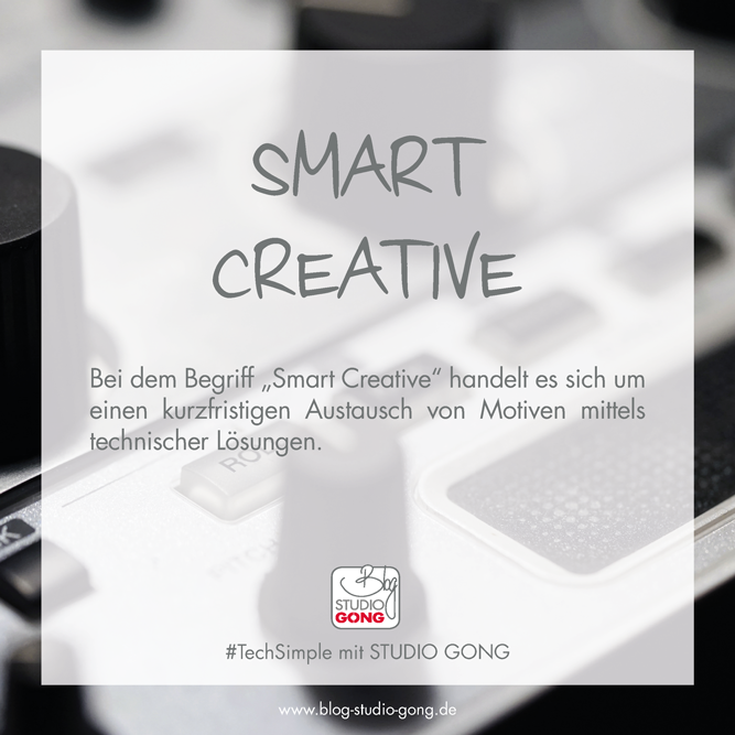 Beitragsbild #TechSimple - Smart Creative