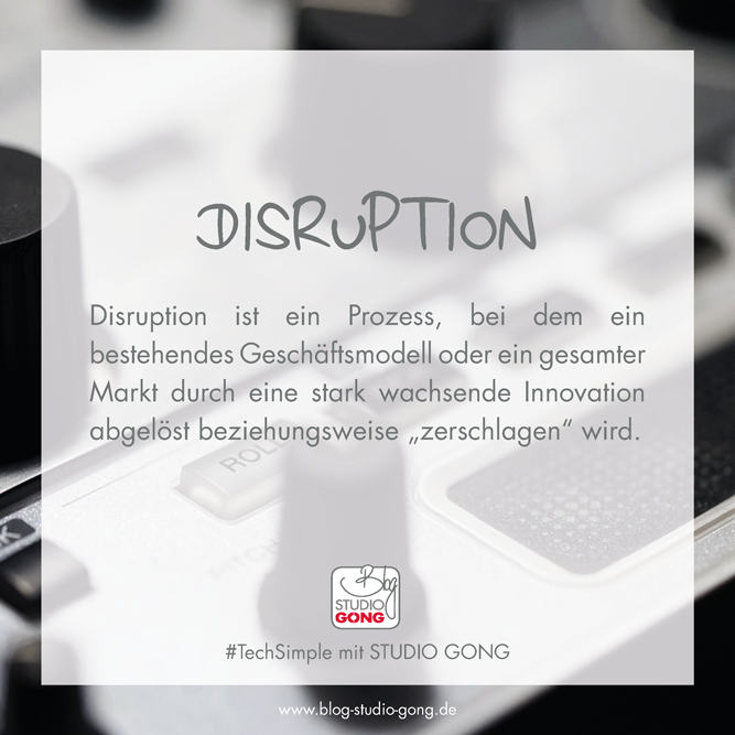 #TechSimple Disruption