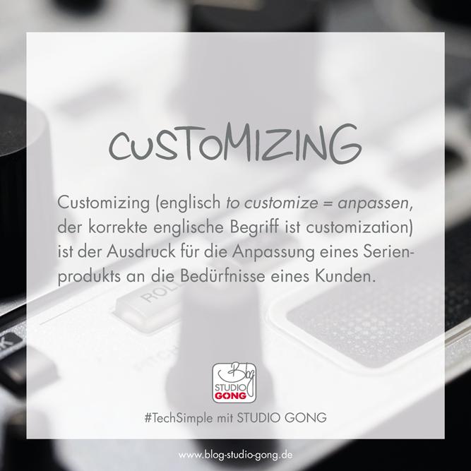 #TechSimple Customizing