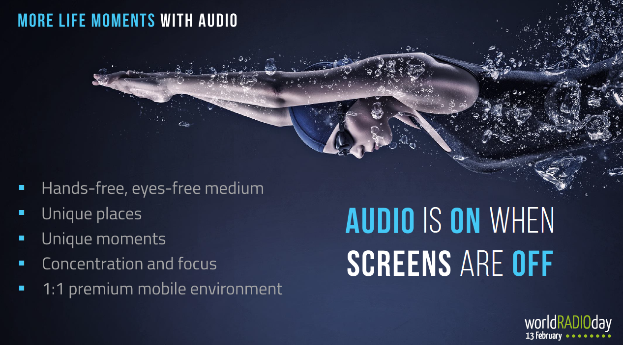 Grafik More life moments with Audio