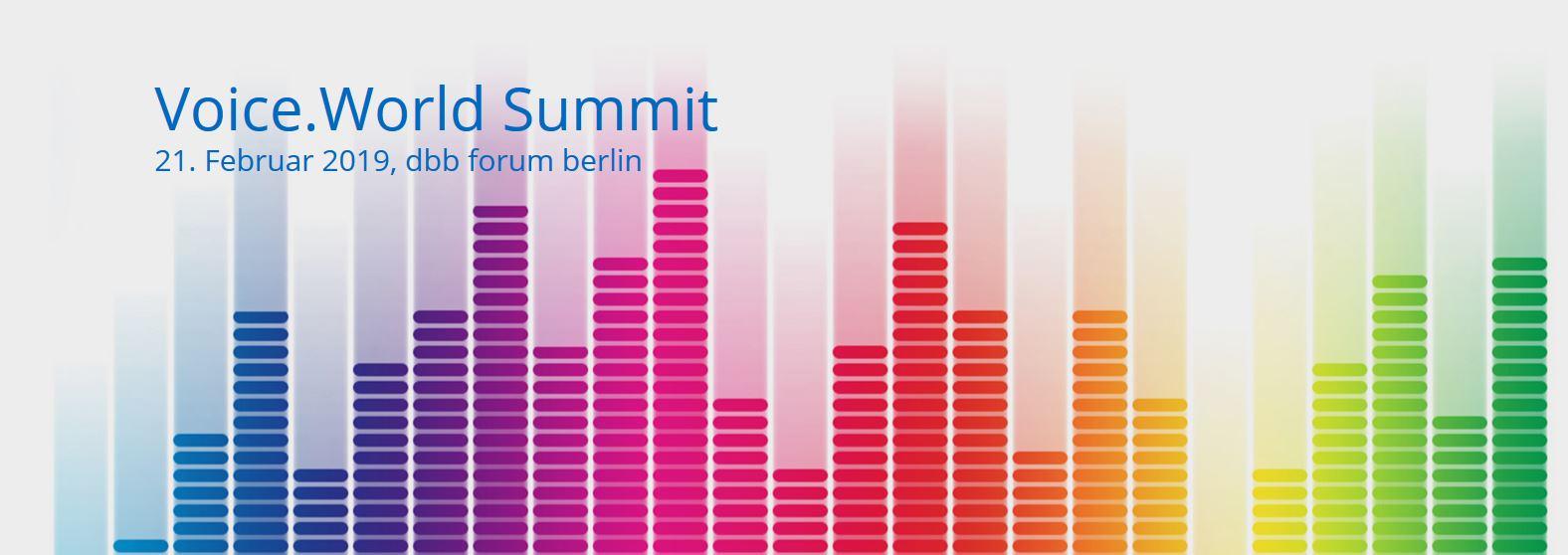 Beitragsbild Voice.World Summit