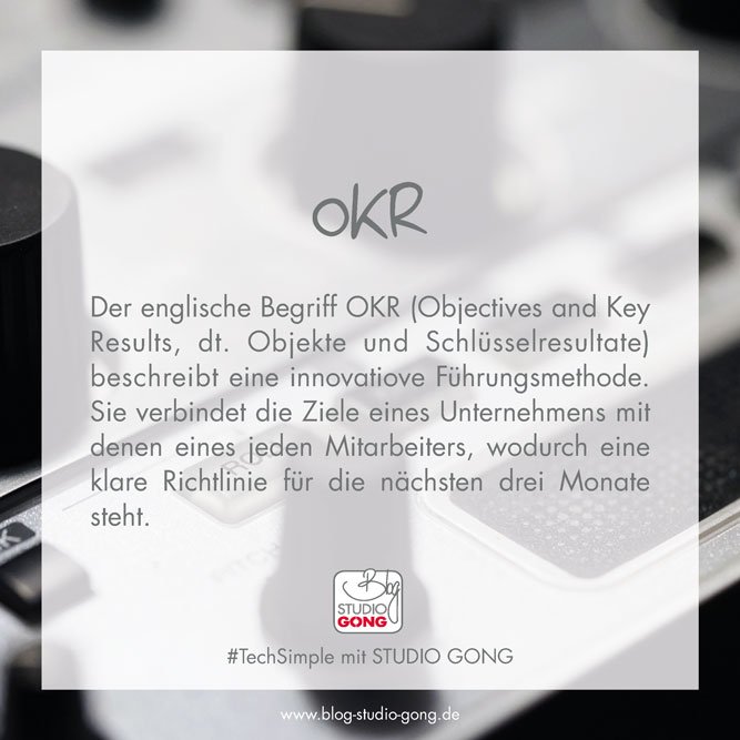 Beitragsbild TechSimple OKR