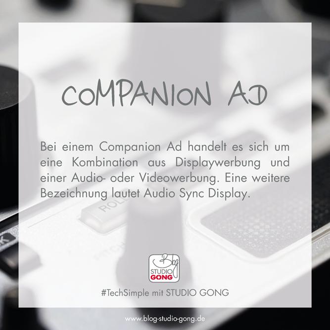 Beitragsbild TechSimple Companion Ad