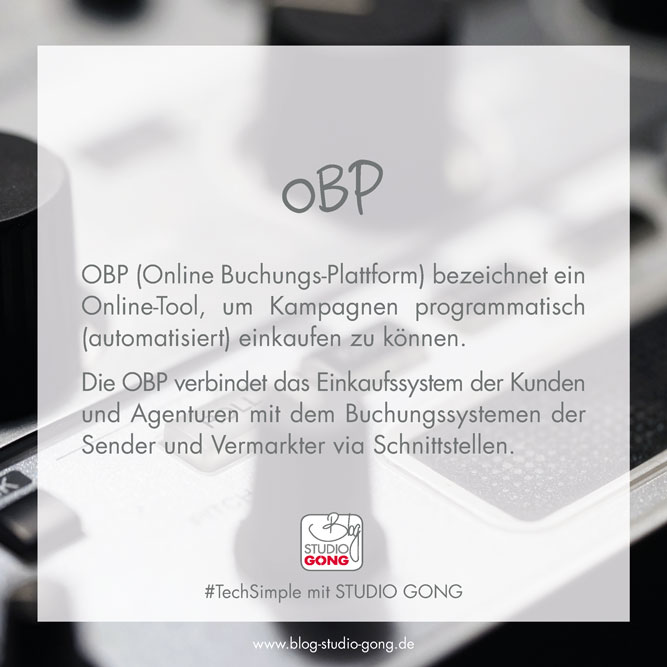 Beitragsbild TechSimple OBP