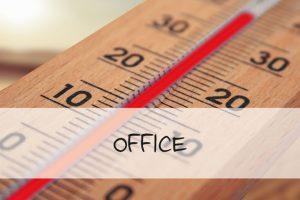 Vorschaubild Hitze im Büro