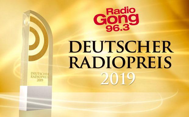 """Beitragsbild zum Artikel """"Gong 96.3 holt beim Deutschen Radiopreis das Triple"""""""