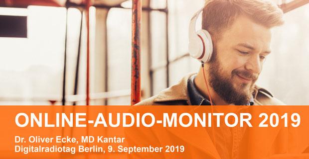 """Beitragsbild Artikel"""" Online-Audio-Monitor 2019: Deutschland ist Audioland"""""""