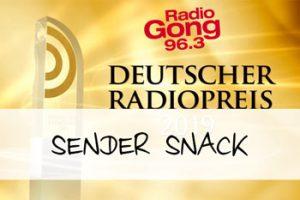 """Vorschaubild zum Artikel """"Gong 96.3 holt beim Deutschen Radiopreis das Triple"""""""