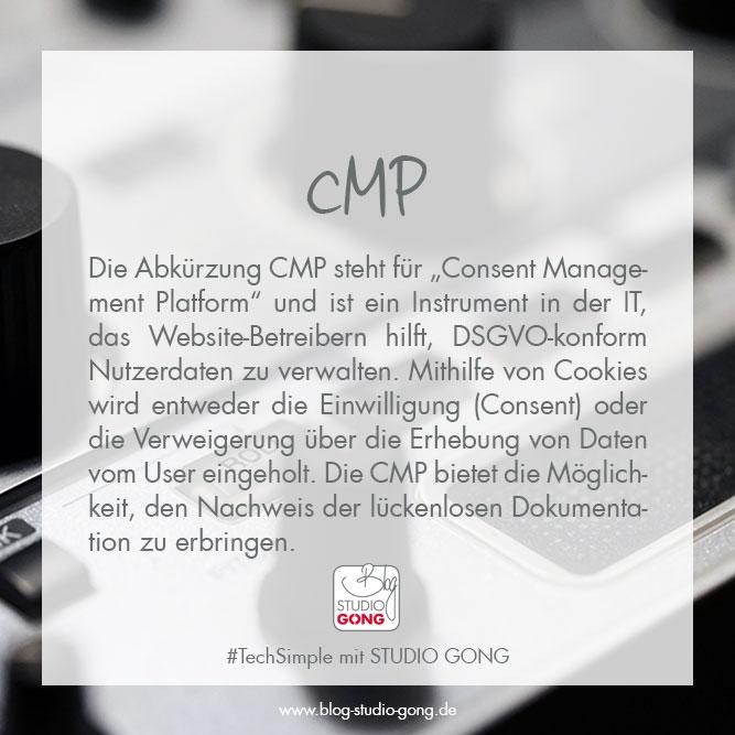 """Beitragsbild """"#TechSimple - CMP"""""""