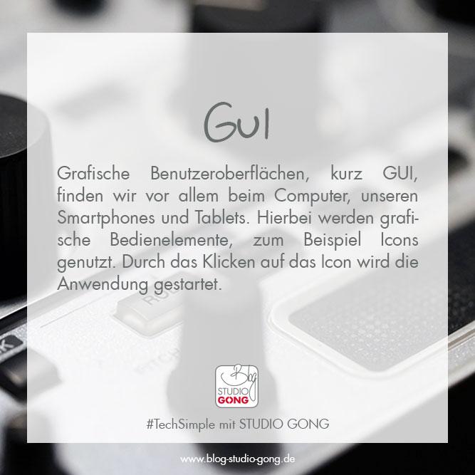 """Beitragsbild zu Artikel """"#TechSimple - GUI"""""""