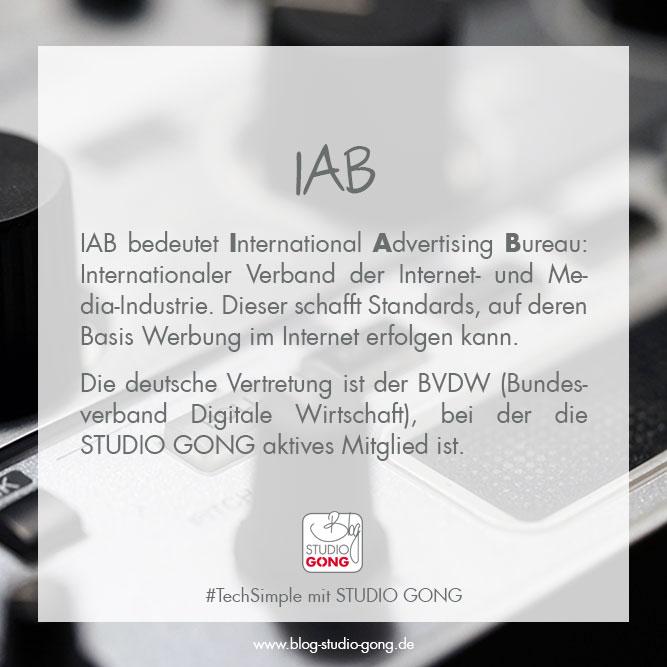 """Beitragsbild zum Artikel """"#TechSimple - IAB"""""""