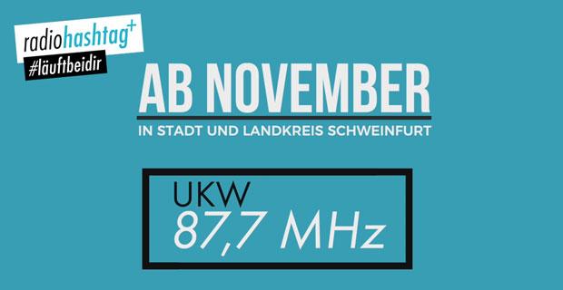 """Beitragsbild zu Artikel """"UPDATE: radiohashtag+ goes UKW 87,7"""""""