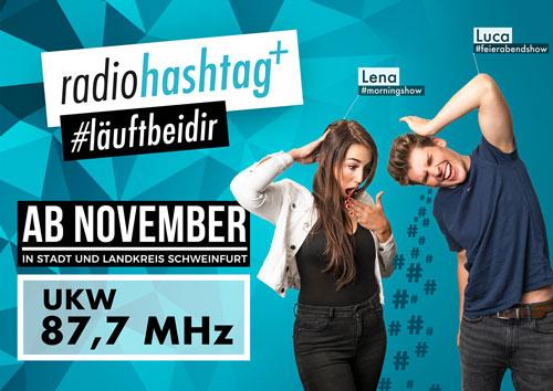 "Bild im Artikel ""UPDATE: radiohashtag+ goes UKW 87,7"""
