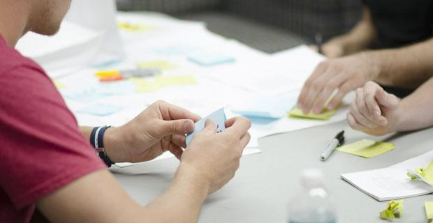 """Beitragsbild zum Artikel """"Design Thinking - die neue Methode für mehr Innovation"""""""