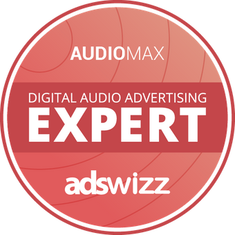 "Logo ""Digital Audio Advertising Expert"""