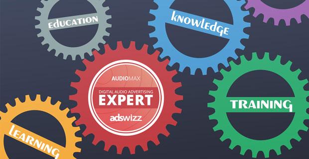 """Beitragsbild zum Artikel """"Erfolgreiche Weiterbildung zum 'Digital Audio Advertising Expert'"""""""