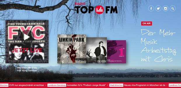"""Beitragsbild zum Artikel """"TOP FM-Website im neuen Gewand"""""""