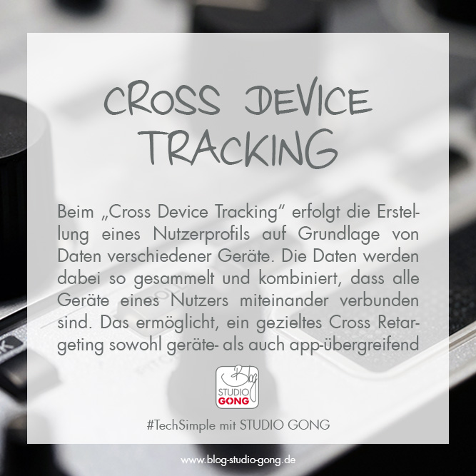 "Beitragsbild zum Artikel ""#TechSimple - Cross Device Tracking"""