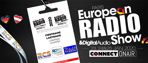 """Beitragsbild zum Artikel """"Rückblick auf die European Radio Show 2020"""""""
