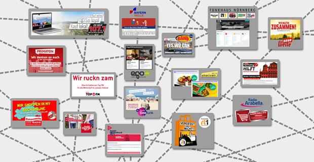 """Beitragsbild zum Artikel """"Sender-Aktionen bieten Unterstützung während der Krise"""""""