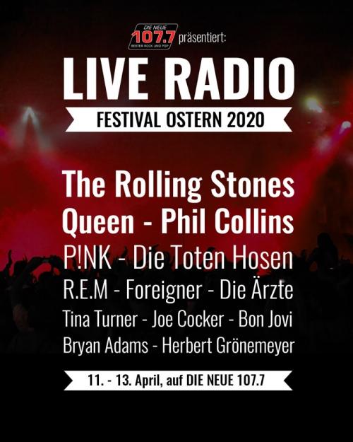 """Beitragsbild """"Line-up des Live Radio Festivals"""""""