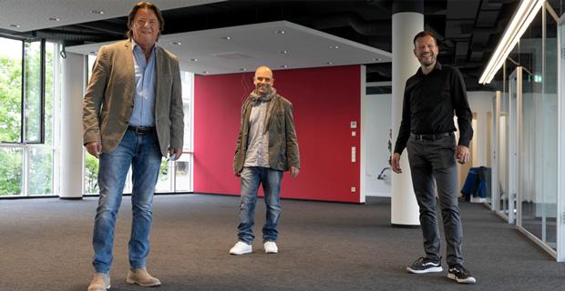 """Artikelbild """"GONG 96.3 errichtet top-modernes Sendezentrum"""" mit Georg Dingler und Johannes Ott"""