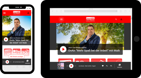 """Beitragsbild """"Website OSW - Mobile Device"""""""