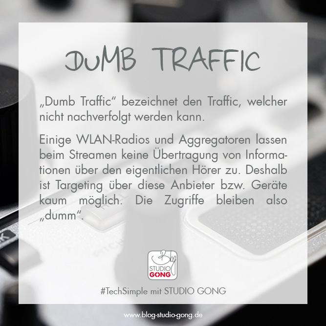 """Beitragsbild zum Artikel """"#TechSimple - Dumb Traffic"""""""