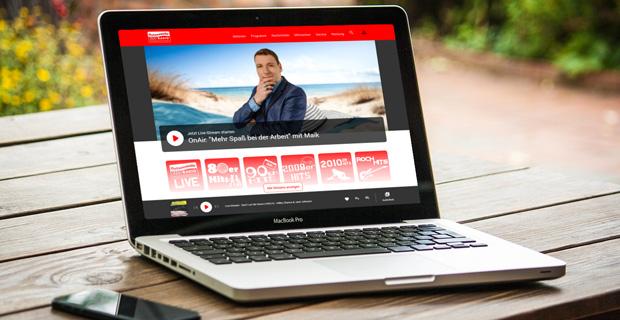 """Beitragsbild zum Artikel """"Web-Relaunch bei der Ostseewelle"""""""