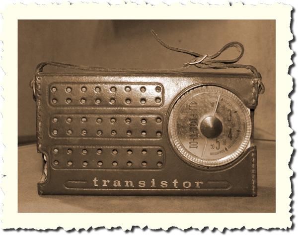 Beitragsbild Transitor-Radio