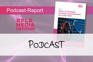 """Vorschaubild zum Artikel """"Podcast-Report liefert umfassenden Überblick"""""""