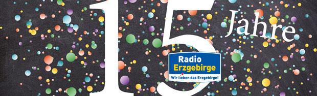 Beitragsbild Jubiläum Radio Erzgebirge
