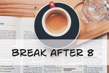 Vorschaubild Break after 8