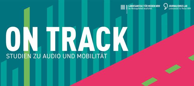 """Beitragsbild zum Artikel """"ON TRACK - Die Nutzung von Audio im Auto"""""""