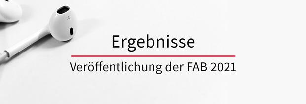 """Beitragsbild zum Artkel """"Ergebnisse FAB 2021"""""""