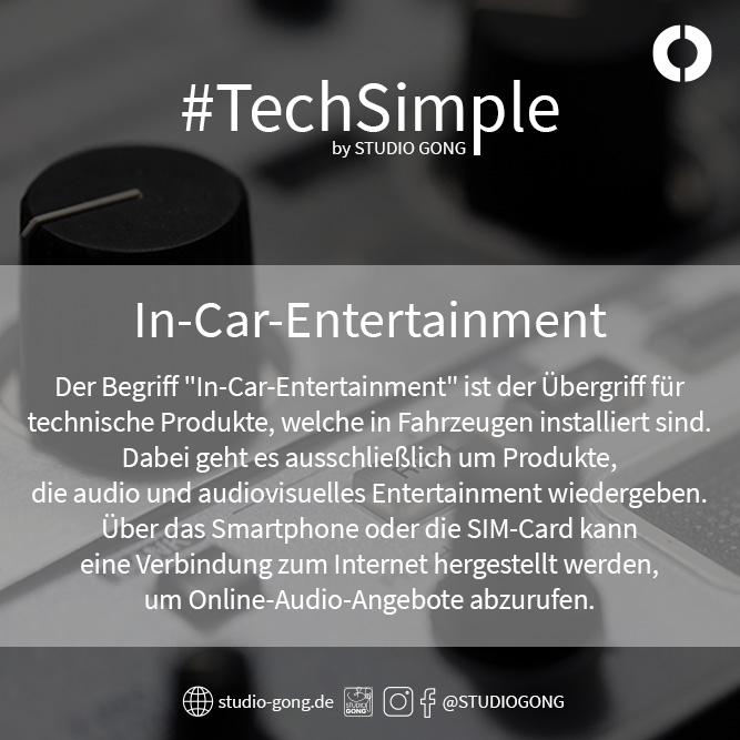 """Beitragsbild zum Artikel """"TechSimple - In-Car-Entertainment"""""""