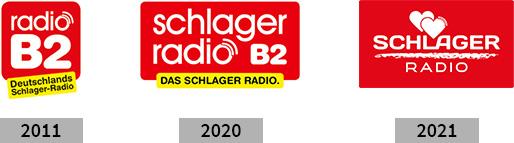 Logo-Entwicklung Schlager Radio