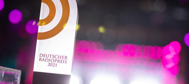 """Beitragsbild zum Artikel """"Verleihung des Deutschen Radiopreises 2021"""""""