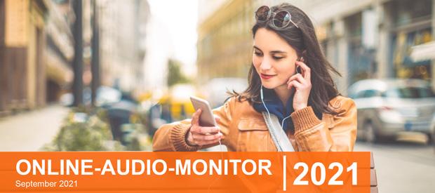 """Beitragsbild zum Artikel """"Online-Audio-Monitor 2021 - spannende Ergebnisse"""""""