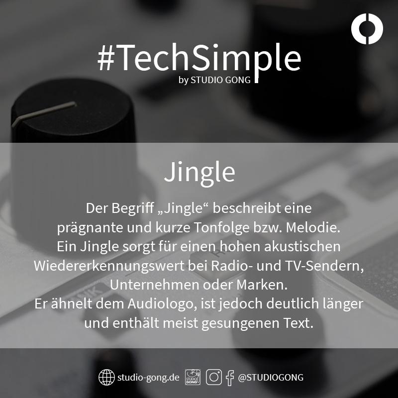 "Beitragsbild zum Artikel ""#TechSimple - Jingle"""