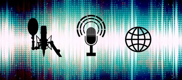 """Beitragsbild zum Artikel """"Radio, Podcast, Streaming - Audionutzung 2021"""""""
