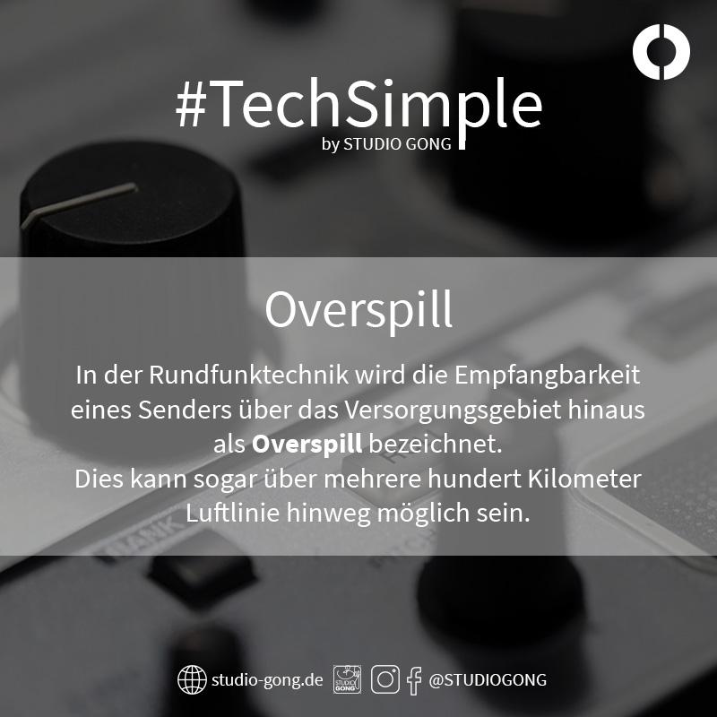 """Beitragsbild zum Artikel """"#TechSimple - Overspill"""""""