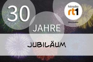 """Vorschaubild zum Artikel """"HITRADIO RT1 Südschwaben feiert 30-jähriges Jubiläum"""""""