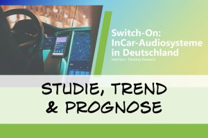 """Vorschaubild zum Artikel - Ergebnisse der Studie """"Switch-On: InCar-Audiosysteme"""""""